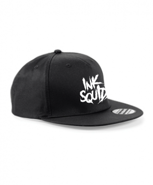 Ink Squid - Snapback - Black