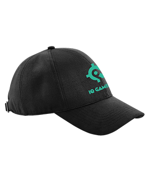 IQ Gaming - Faux Suede 6 Panel Cap