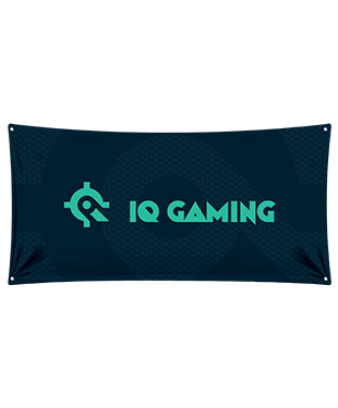 IQ Gaming - Wall Flag