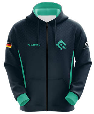IQ Gaming - Esports Hoodie with Zipper