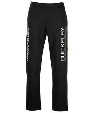 QuickPlay - Slim Cuffed Jogging Bottoms
