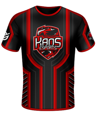 KaoS Esports - Official Short Sleeve Jersey - Black