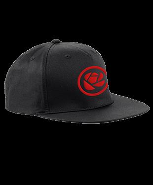 MythSky - 5 Panel Snapback Cap - Black