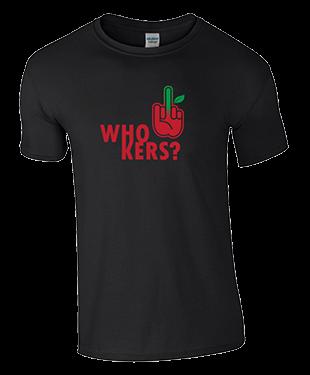 MythSky - Who Kers? Tee - Black