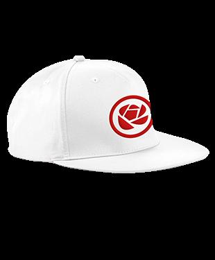 MythSky - 5 Panel Snapback Cap - White