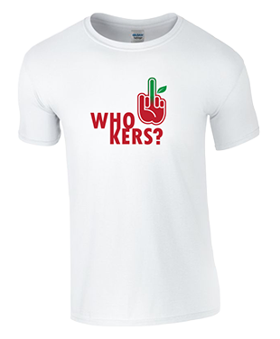 MythSky - Who Kers? Tee - White