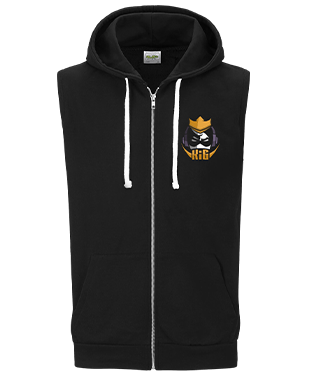 KIGesports - Sleeveless Hoodie with Zipper