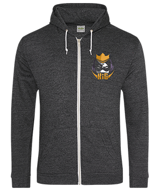 KIGesports - Unisex Heather Hoodie with Zipper