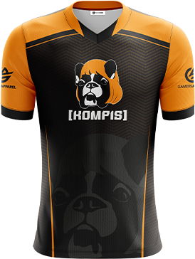 KompisKlanen - Short Sleeve Esports Jersey