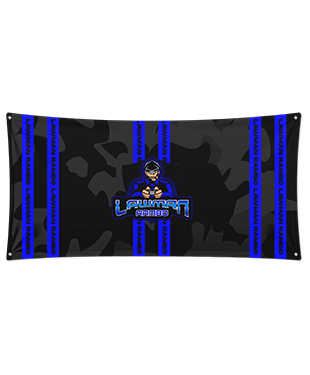 LawMan Rambo - Wall Flag