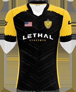 Lethal Kyngsmen - Short Sleeve Esports Jersey