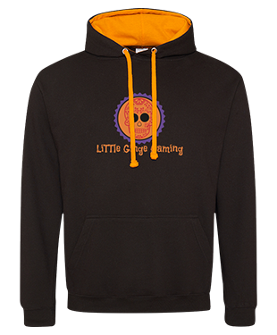 LiTTle Ginge Gaming - Contrast Hoodie