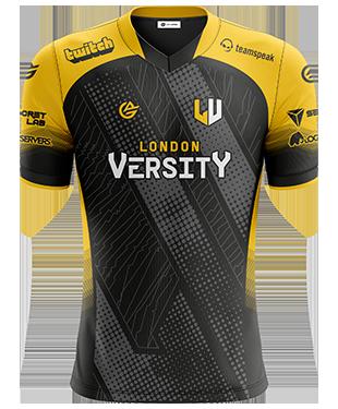 London Versity - Short Sleeve Esports Jersey