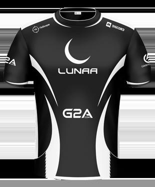 Lunaa eSports - Player Jersey 2017