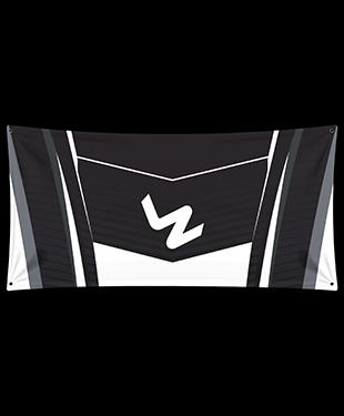 LyZo Esports - Wall Flag - Black