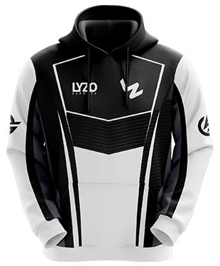 LyZo Esports - Hoodie without Zipper - Black