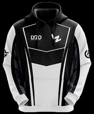 LyZo Esports - Hoodie without Zipper - Black