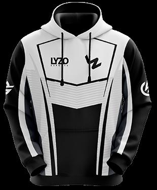 LyZo Esports - Hoodie without Zipper - White