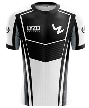LyZo Esports - Short Sleeve Esports Jersey - Black