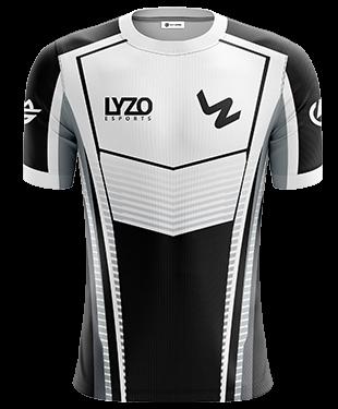 LyZo Esports - Short Sleeve Esports Jersey - White