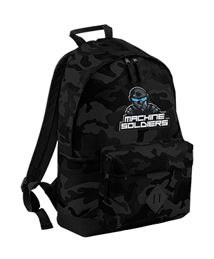 Machine Soldiers - Camo Backpack