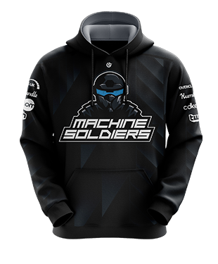 Machine Soldiers - Esports Hoodie without Zipper
