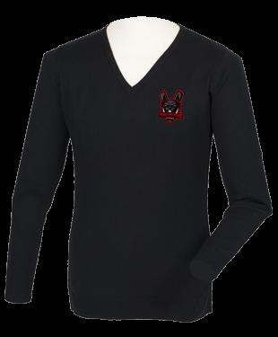 Malicious Esports - Acrylic V Neck Sweater