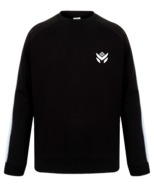 Malicious Threat - Unisex Contrast Raglan Sweatshirt