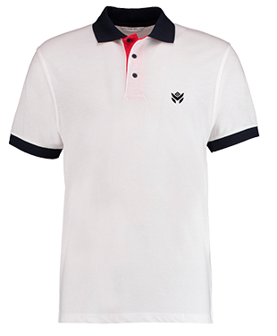 Malicious Threat - Contrast Poly/Cotton Pique Polo Shirt