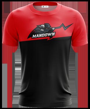ManDown - Polyester T-shirt