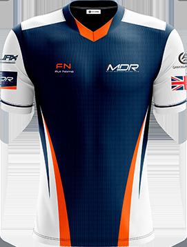 Mayor Downard Racing Team - Short Sleeve Esports Jersey