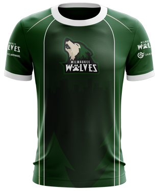 Milwaukee Wolves - Standard Esports Jersey