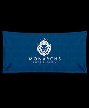 Monarchs Esports - Wall Flag