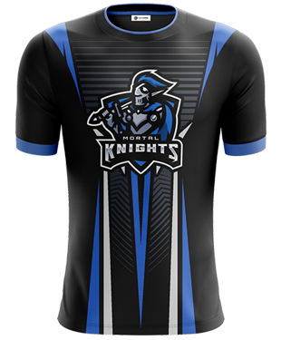 Mortal Knights - Short Sleeve Esports Jersey