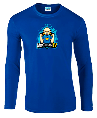 MrClean - Long Sleeve T-Shirt