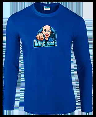 MrClean - Long Sleeve T-Shirt