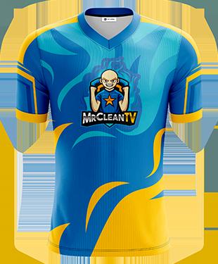 MrClean - Short Sleeve Esports Jersey
