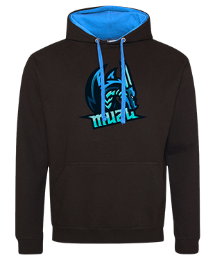 Muzu - Contrast Hoodie