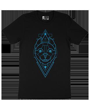 Mythical Geometry - Dog - Organic T-Shirt