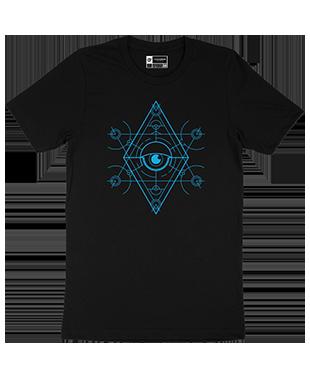 Mythical Geometry - Eye - Organic T-Shirt