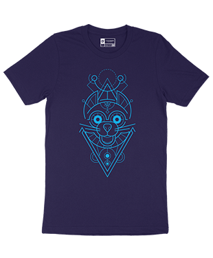 Mythical Geometry - Mouse - Organic T-Shirt