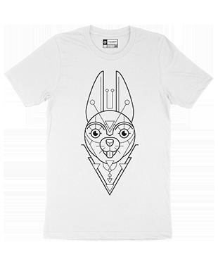 Mythical Geometry - Rabbit - Organic T-Shirt