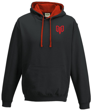 Myztro - Contrast Hoodie without Zipper