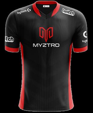 Myztro - Pro Short Sleeve Esports Jersey