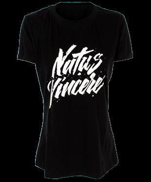 NaVi - Female Calligraphy T-Shirt - Black