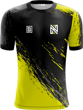 Nihil - Pro Short Sleeve Esports Jersey with Sponsors