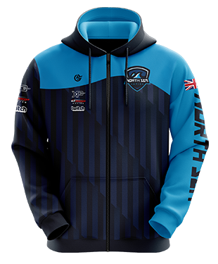 North Sea Gaming - Esports Hoodie with Zipper