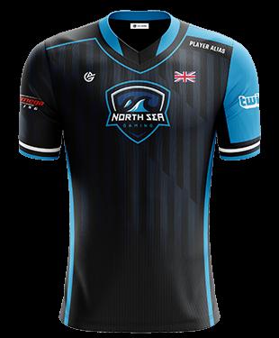 North Sea Gaming - Short Sleeve Esports Jersey