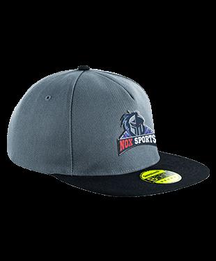 NOXsports - Flat Peak Snapback Cap