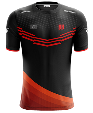 Never Relinquish - Short Sleeve Esports Jersey